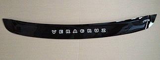 Дефлектор капота для Hyundai Veracruz (короткий) (2007>) (VT-52)