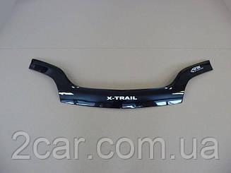 Мухобойка Nissan X-Trail T-30 (2001-2006) (VT-52) Дефлектор капота накладка