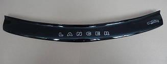 Мухобойка Mitsubishi Lancer с (1997-2003) (VT-52) Дефлектор капота накладка