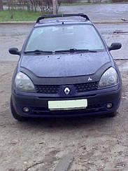 Дефлектор капота для Renault Clio Symbol (2001-2008) (VT-52)