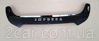 Дефлектор капота для Subaru Impreza (2011>) (VT-52)