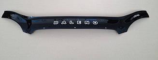 Мухобойка Suzuki Baleno (1999-2002) (VT-52) Дефлектор капота накладка