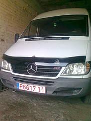 Мухобойка Mercedes Sprinter (Br.901-905) (2002-2006) (VT-52) Дефлектор капота накладка