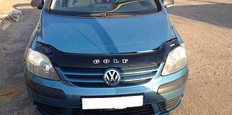 Дефлектор капота для VW Golf Plus (2005>) (VT-52)