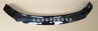 Мухобойка Nissan Pathfinder (R52) (2012>) (VT-52) Дефлектор капота накладка