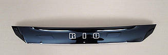 Дефлектор капота для Kia Rio II (короткий) (2003-2005) (VT-52)