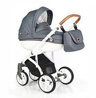 Детская универсальная коляска 2 в 1 Roan Bass Soft Denim