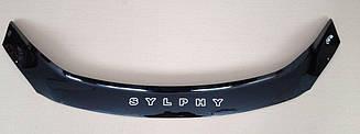 Дефлектор капота для Nissan Sylphy (NB17) (2012>) (VT-52)