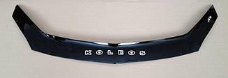 Мухобойка Renault Koleos (2008-2016) (VT-52) Дефлектор капота