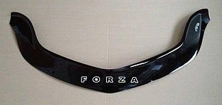 Мухобойка ZAZ Forza Liftback (F4) (2011>) (VT-52) Дефлектор капота накладка