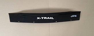Мухобойка Nissan X-Trail T-30 (короткий) (2001-2006) (VT-52) Дефлектор капота накладка