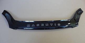 Мухобойка Kia Magentis (2005-2008) (VT-52) Дефлектор капота накладка