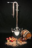 Колонна - дистиллятор бытовой с баком из нержавейки. 14, 24, 33 литра.