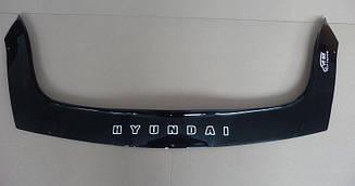 Дефлектор капота для Hyundai i20 (2008>) (VT-52)