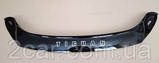 Дефлектор капота для VW Tiguan (2008-2016) (VT-52)