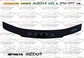 Дефлектор капота для Mazda 626 (1992-1997) (VT-52)