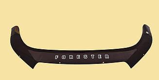 Мухобойка Subaru Forester (2012>) (VT-52) Дефлектор капота накладка