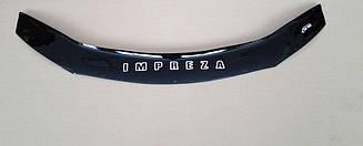 Мухобойка Subaru Impreza (2007-2011) (VT-52) Дефлектор капота накладка