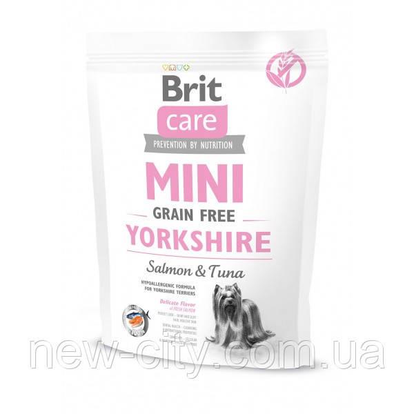 Brit Care Mini Grain Free Yorkshire 0,4kg , корм для йоркширских терьеров