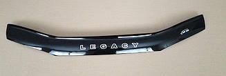 Мухобойка Subaru Legacy II (1993-1998) (VT-52) Дефлектор капота накладка