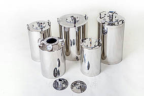Емкость для дистиллятора. Куб из нержавейки - 13/23/33 литров