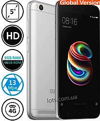 Смартфон Xiaomi Redmi 5A 2/16Gb (Сертифицирован в Украине UCRF)+Защитное стекло в подарок