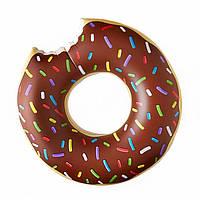 Надувной круг Modarina Шоколадный Пончик 90 см Шоколадный PF3378