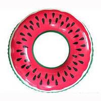 Надувной круг Modarina Арбуз 90 см Красный PF3323