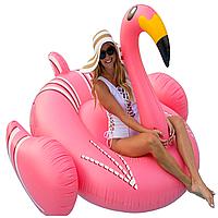 Надувной матрас Modarina Стильный Фламинго 200 см Розовый PF3399