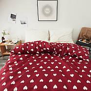 Комплект постельного белья Сердца (полуторный) Berni, фото 4