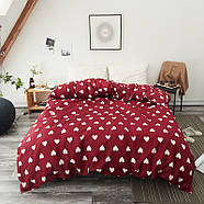 Комплект постельного белья Сердца (полуторный) Berni, фото 9