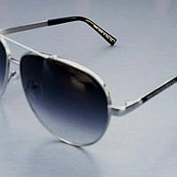 Очки  капли мужские солнцезащитные с градиентом