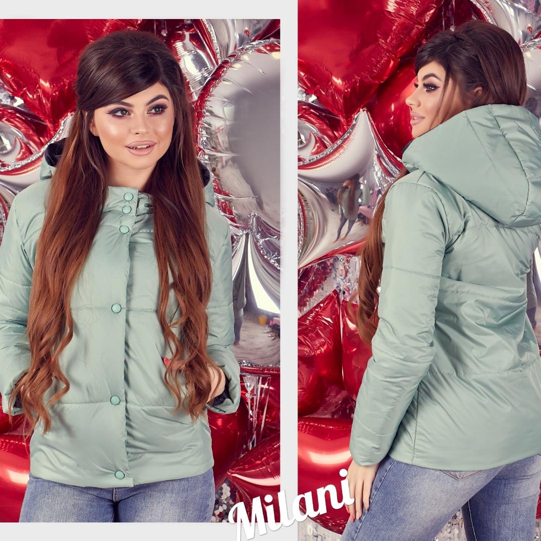 95142ce8c0b Женская короткая стильная куртка с капюшоном