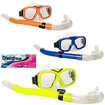 Набор для плавания и ныряния - маска и трубка, 65162