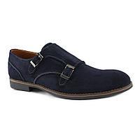 Туфли мужские классические замшевые (монки)