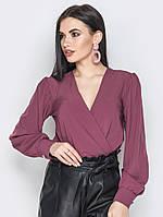 Женская блузка на запах Angelina, фото 1