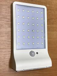 Світлодіодний вуличний світильник на сонячній батареї з датчиком руху SOLAR 5 W IP65 Код.59251