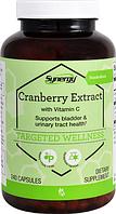 Клюква, экстракт, Vitacost, Cranberry Extract with Vitamin C, 400 мг, 240 капсул