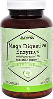Ферменты с панкреатином, Vitacost,  Mega Digestive Enzymes with Pancreatin 10X, 300 капсул