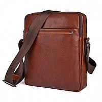 Вместительная сумка через плечо из кожи Bego арт. 2042br