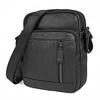 Классическая мужская сумка через плечо Bego арт. 2039bl