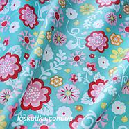 36010 Краски детства. Ткани с цветочным узором. Подойдет для изготовления летней одежды и для пэчворка., фото 2