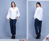 Блуза женская нарядная большие размеры Г0153, фото 1