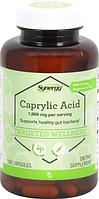Каприловая кислота, Vitacost, Caprylic Acid, 1996 мг, 100 капсул