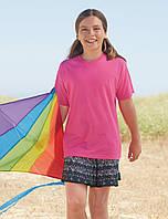 Облегчённая детская футболка унисекс 61-019-0