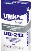 Теплоизоляционная тонкослойная смесь UMKA UB-212 (Умка 212)