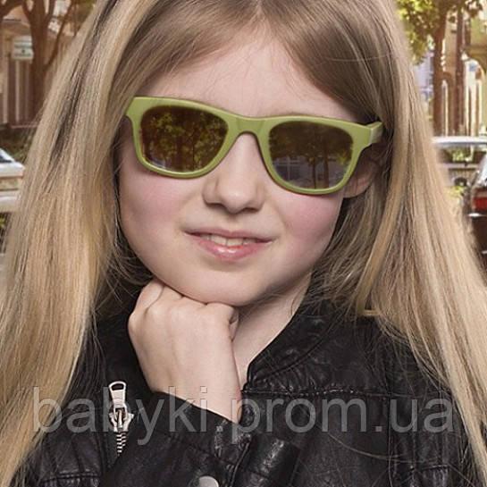 Детские солнцезащитные очки Koolsun хаки серии Wave (Размер 3+)  ... c9ef67bc47aa6