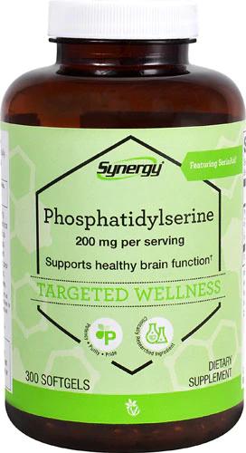 Фосфатидилсерин, Vitacost, Phosphatidylserine, 200 мг, 300 капсул