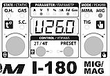 Сварочный инверторный полуавтомат Атом I-180 MIG/MAG с осциллятором, фото 3