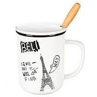 """Керамічна чашка """"Paris"""" (360 мл), фото 1"""